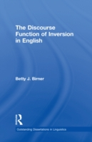 Discourse Function of Inversion in Engli
