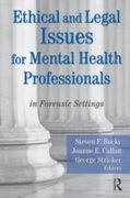 Ethical and Legal Issues for Mental Heal