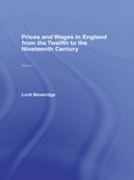 Prices and Wages in England
