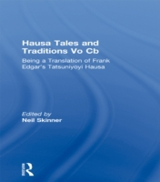 Hausa Tales and Traditions Vo Cb