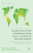 Higher Education Governance and Policy C