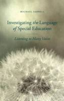 Investigating the Language of Special Ed