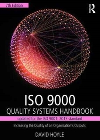 ISO 9000 Quality Systems Handbook-update
