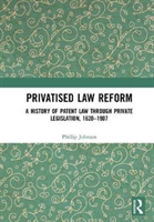 Privatised Law Reform: A History of Pate