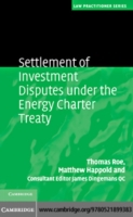 Settlement of Investment Disputes under