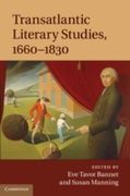 Transatlantic Literary Studies, 1660-183