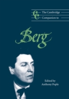 Cambridge Companion to Berg