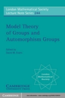 Bilde av Model Theory Of Groups And Automorphism