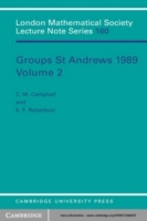 Groups St Andrews 1989: Volume 2