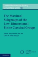 Maximal Subgroups of the Low-Dimensional