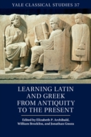 Learning Latin and Greek from Antiquity