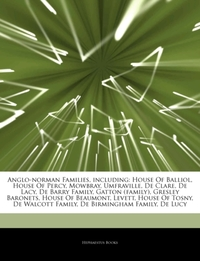 Articles on Anglo-Norman Families, Inclu