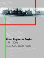 From Baylor to Baylor: 1991-2006: ACM-IC