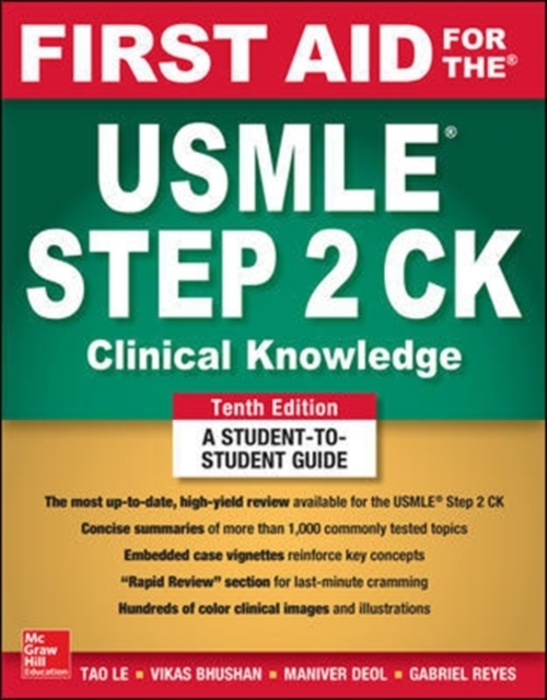 First Aid for the USMLE Step 2 CK, Tenth