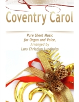 Coventry Carol Pure Sheet Music for Orga