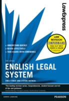 Law Express: English Legal System 5th ed