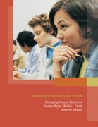 Managing Human Resources: Pearson New In