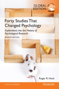 Forty Studies that Changed Psychology, G