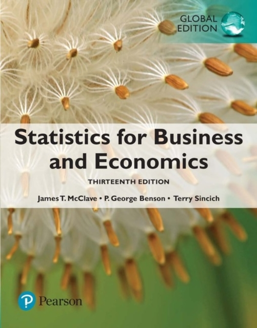 Statistics for Business and Economics, G