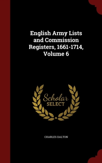 English Army Lists and Commission Regist