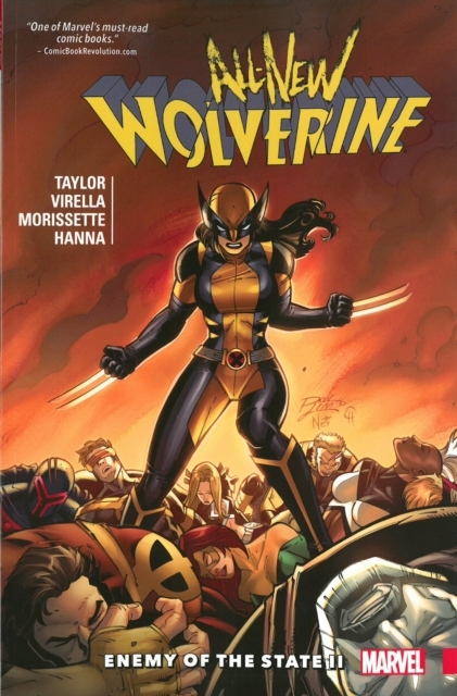 All-new Wolverine Vol. 3: Enemy Of The S