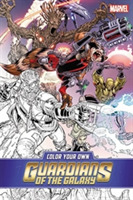 Color Your Own Guardians of the Galaxy