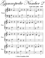 Gymnopedie Number 2 Beginner Piano Sheet