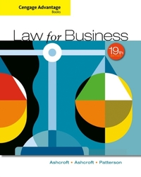 Cengage Advantage Books: Law for Busines