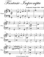 Fantasie Impromptu Easiest Piano Sheet M