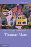 Cambridge Introduction to Thomas Mann