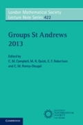 Groups St Andrews 2013