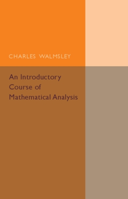 An Introductory Course of Mathematical A