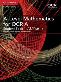 A Level Mathematics for OCR Student Book