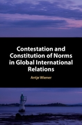 Contestation and Constitution of Norms i