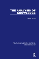 Analysis of Knowledge