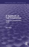 Handbook of Test Construction (Psycholog