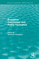 Economic Calculations and Policy Formati