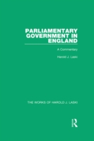 Parliamentary Government in England (Wor