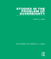 Studies in the Problem of Sovereignty (W