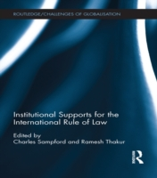 Institutional Supports for the Internati