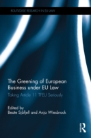Greening of European Business under EU L