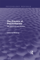Practice of Psychotherapy (Psychology Re