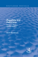 Populists and Patricians (Routledge Revi