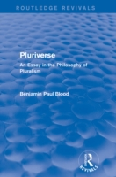 Pluriverse (Routledge Revivals)