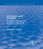 Carnival and Theater (Routledge Revivals