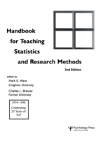 Handbook for Teaching Statistics and Res