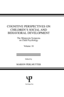 Cognitive Perspectives on Children's Soc