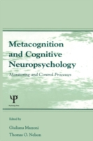 Metacognition and Cognitive Neuropsychol