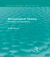 Sociological Theory (Routledge Revivals)