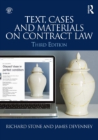 Text, Cases and Materials on Contract La